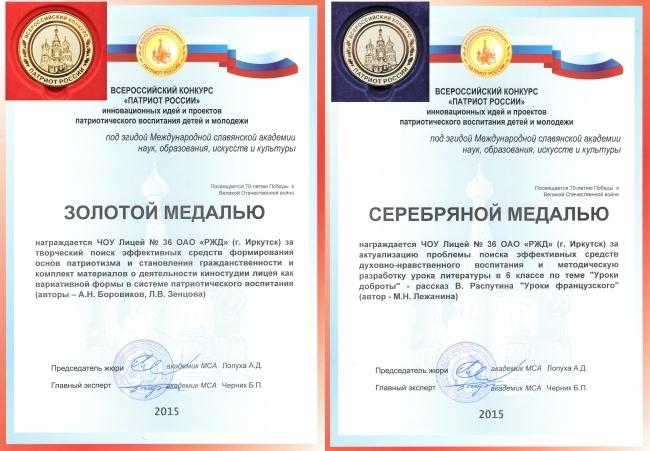 Итоги конкурса патриот россии